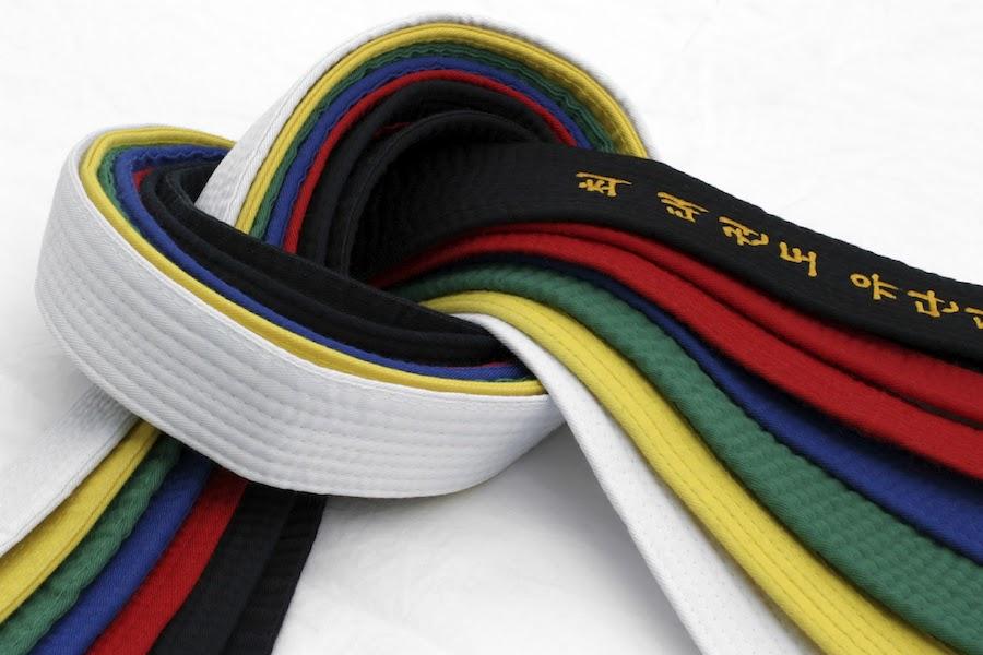 Coloured Belt Grading June 2021